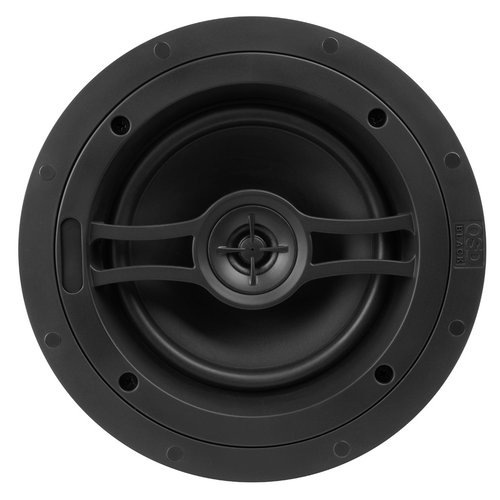 "OSD Black R61 6.5"" Acoustic In-Ceiling Speakers (Pair)"