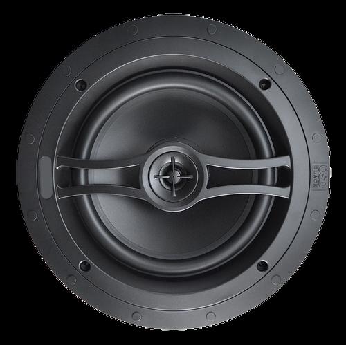 """OSD Black R81 8"""" Acoustic In-Ceiling Speakers (Pair)"""