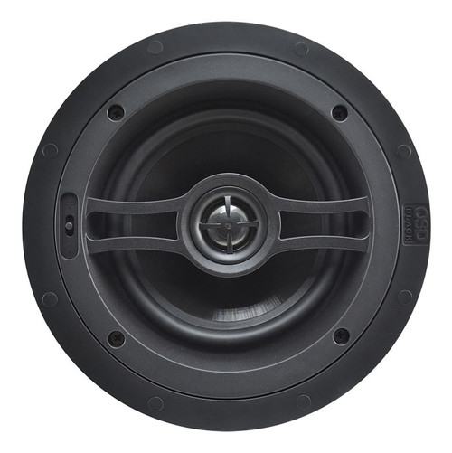 "OSD Black R82 8"" Performance In-Ceiling Speakers (Pair)"