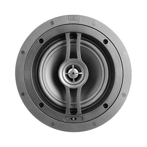 "OSD Black R82SM 8"" Performance Weather Resistant Shallow Mount In-Ceiling Speaker (Each)"