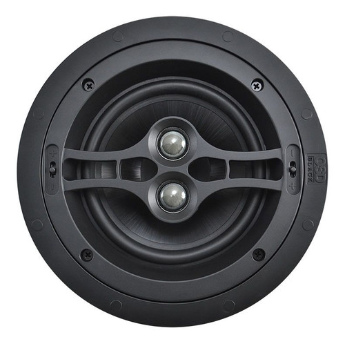 "OSD Black R62DT 6.5"" Performance Dual Voice Coil In-Ceiling Speaker (Each)"
