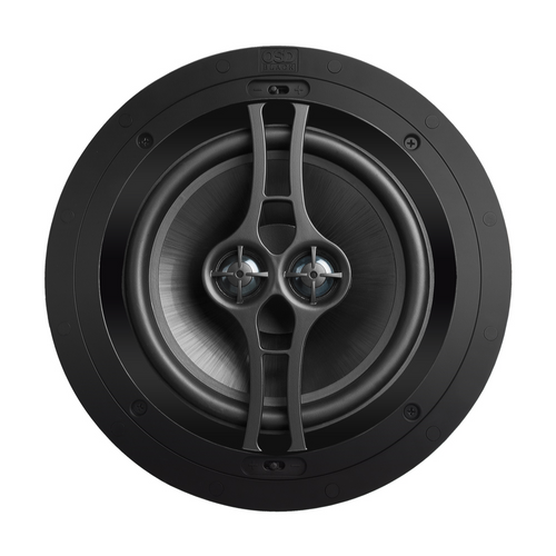 "OSD Black R82DT 8"" Performance Dual Voice Coil In-Ceiling Speaker (Each)"