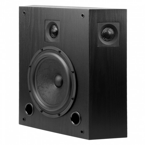 "OSD Black S8T 8"" Studio Monitor Tri-Pole On-Wall Surround Speaker (Each)"