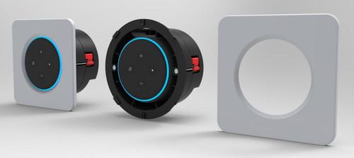 OSD Black Nero Vox Echo Dot Gen 3 & 4 In-Wall Amplifier