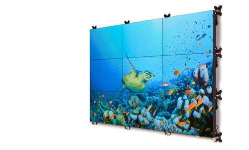 "Barco UniSee 55"" Full HD Bezel-Less High Brightness 24/7 Video Wall LCD Display"