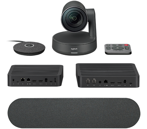 Logitech Rally Premium 4K UHD PTZ Video Conferencing Camera Kit