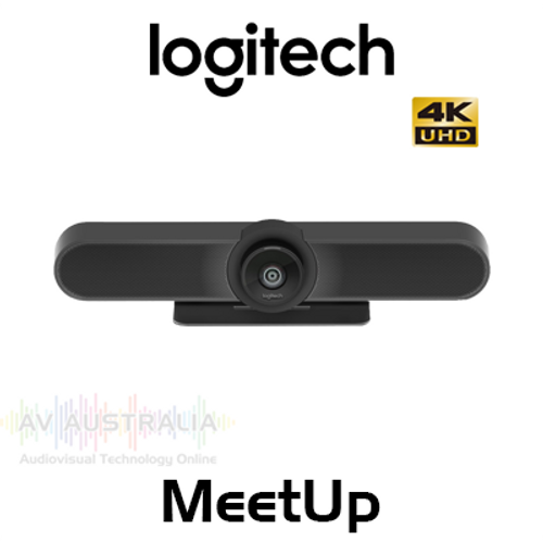 Logitech MeetUp 4K Video Conferencing Camera with Ultra-Wide Lens