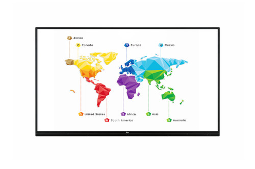 """LG TR3BF UHD 20 Points 16/7 IPS Multi-Touch Interactive Display (65"""", 75"""", 86"""")"""