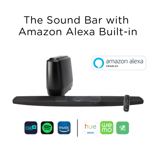 Polk Audio Command Bar System with Amazon Alexa Built-In