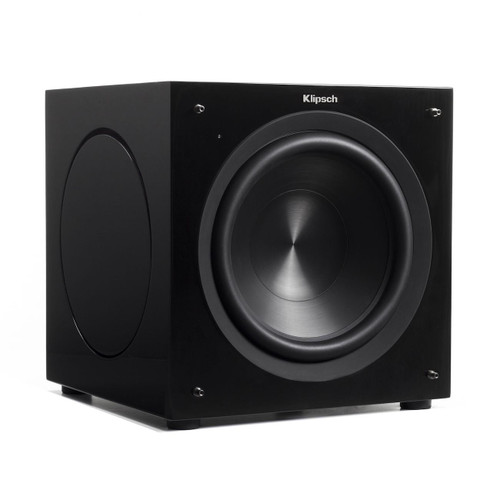 "Klipsch C-310ASWi 10"" High Performance Compact Subwoofer with Passive Radiators"