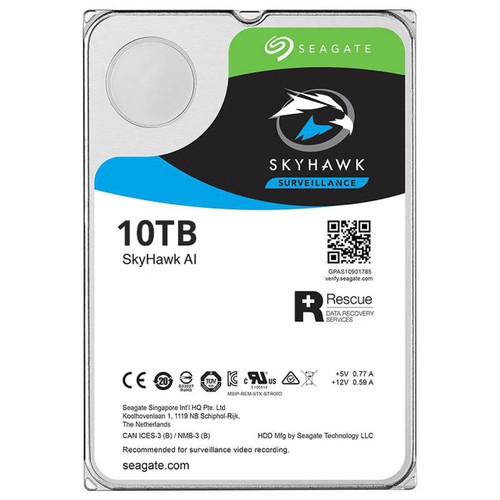 Seagate SkyHawk AI Surveillance NVR Hard Drive (10, 12, 14TB)