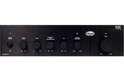 Klipsch KA-1000-THX THX Certified Class-D Subwoofer Amplifier