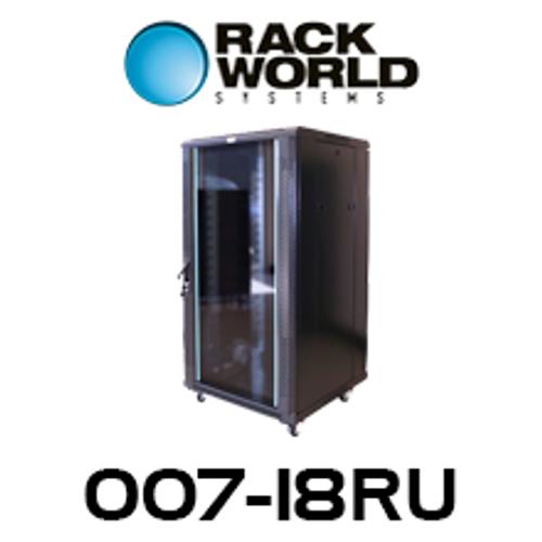 RWS 007 18RU Tall 600 Wide Communications & Network Cabinet