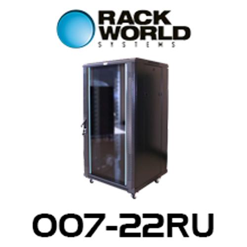 RWS 007 22RU Tall 600 Wide Communications & Network Cabinet