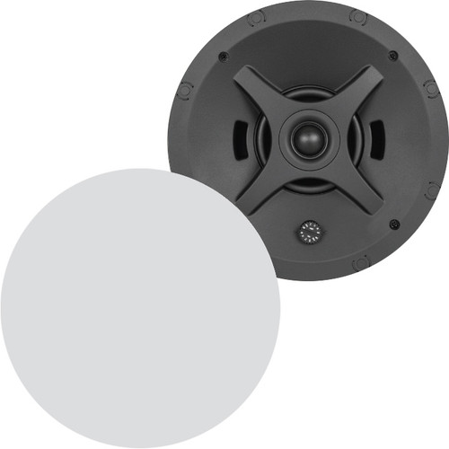 "Sonance Professional PS-C43RTLP 4"" 70/100V 8 Ohm Low Profile In-Ceiling Speakers (Pair)"