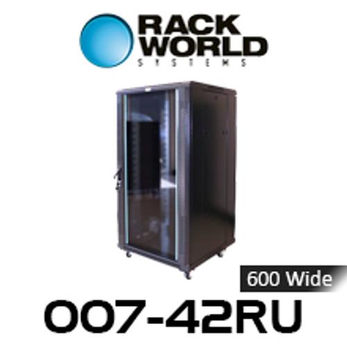 RWS 007 42RU Tall 600 Wide Communications & Network Cabinet