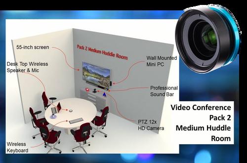 Video Conerence Pack - Med. Huddle Room