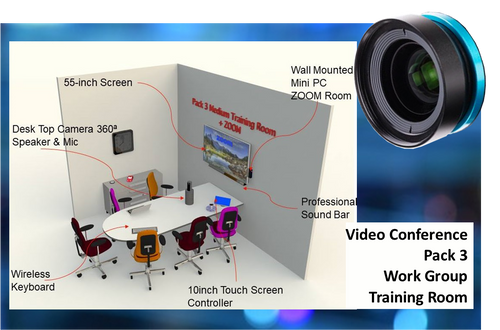 Video Conerence Pack - Work Group Training Room