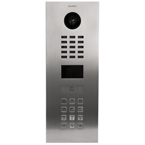 DoorBird D2101KV IP Intercom HD Video Flush Mount Door Station with Keypad
