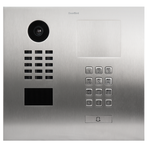 DoorBird D2101KH IP Intercom HD Video Flush Mount Door Station with Keypad