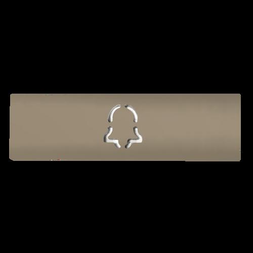 DoorBird Bell Call Semi Gloss Button Label for D21x Video Door Station