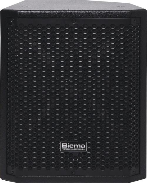 "Biema Passive 8"" 75W Coaxial 2 Way High Power PA Bin Speakers (Pair)"