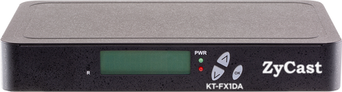 ZyCast KT-FX1DA Single Input HD Modulator with Audio Delay