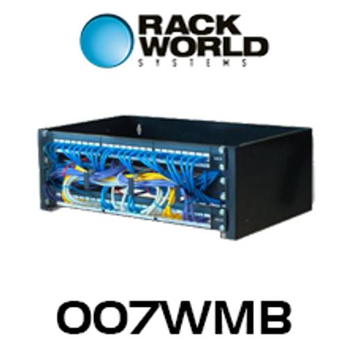 """RMS 007 19"""" Wall Mount Rack Bracket - 4RU, 6RU, 8RU"""