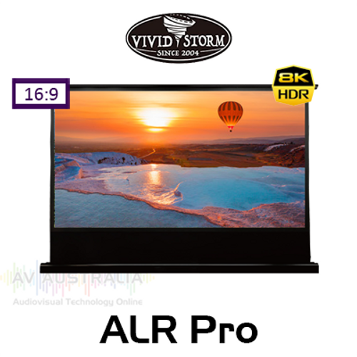 "Vividstorm ALR Floor Rising Pro-Tension 16:9 Projection Screens (92"", 100"", 120"")"