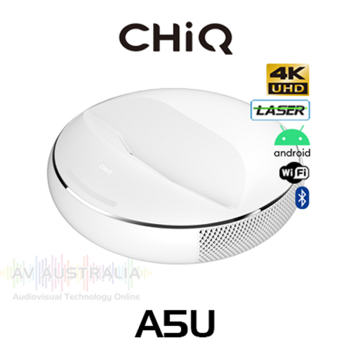 CHIQ A5U Premium 4K Ultra Short Throw Laser Projector
