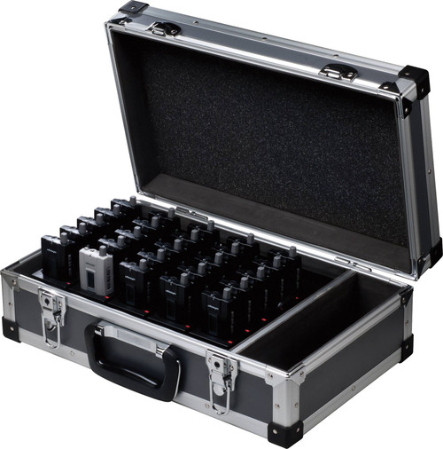 Okayo 25 Bay Charging Case for Tour Guide System