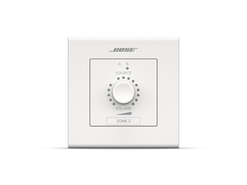 Bose Pro ControlCenter CC-2D Volume & A/B Source PoE Zone Controller