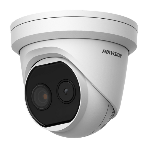 Hikvision DS-2TD1217-6/V1 Thermal & Optical Bi-Spectrum Network Turret Camera