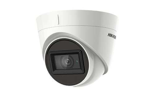 Hikvision DS-2CE78H8T-iT3F 5MP Outdoor 3.6mm Lens Ultra-Low Light Turret Camera