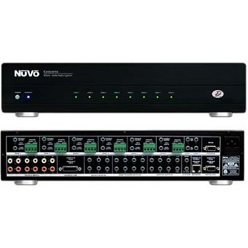 NuVo I8GM-EX 6 Source 8 Zones Grand Concerto Audio Distribution System (Expandable)
