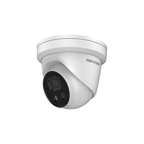 Hikvision DS-2CD2346g1-i/Sl 4MP AcuSense Strobe Light & Audio Alarm 2.8mm Lens PoE Network Dome Camera