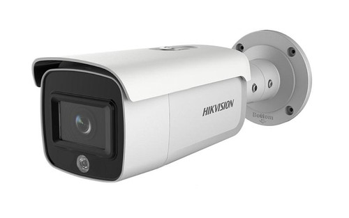 Hikvision DS-2CD2T46g1-4i/Sl 4MP AcuSense Strobe Light & Audio Alarm 2.8mm Lens PoE Network Bullet Camera