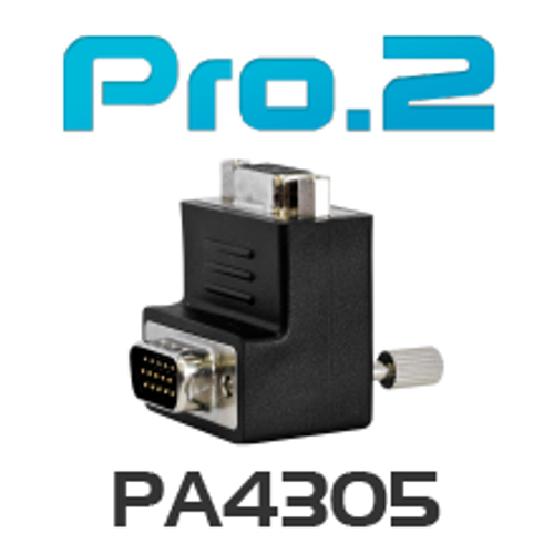 Pro.2 VGA Right Angle Adapter - Up