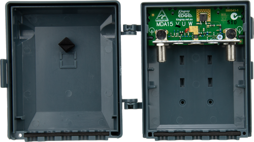 Kingray MDA15V VHF F-Type Masthead Distribution Amplifier