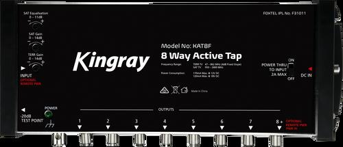 Kingray KATxxF 8/16/24/32-Way Active Tap (47-2400MHz)
