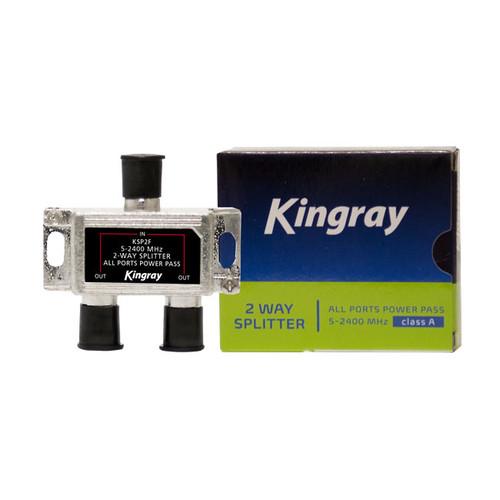 Kingray 2/3/4/6/8-Way F-Type Passive Splitter