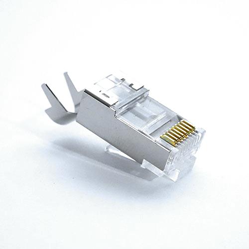 ICE RJ-45 Cat 6A Metal Shielded Connectors (50pk)