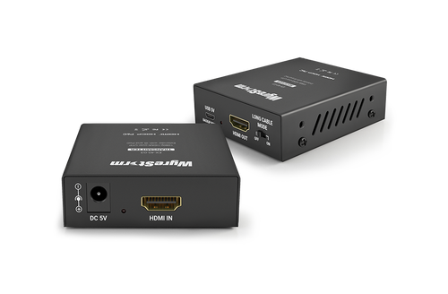 WyreStorm 1080p HDMI-over-UTP Extender with IR and PoC (40m)