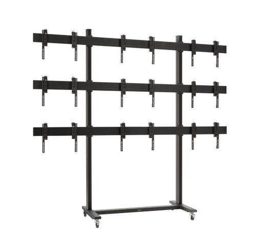 """Vogels TVW3355 3x3 55"""" Video Wall Mobile Trolley"""