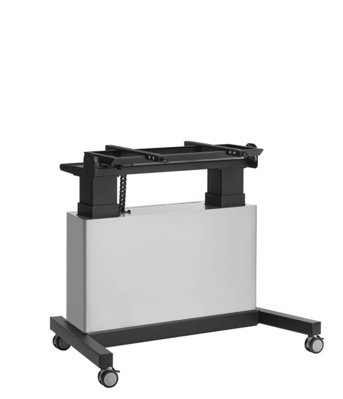 """Vogels PFTE7121 50-86"""" Touch Table Motorised Height Adjustable Trolley With Cabinet"""