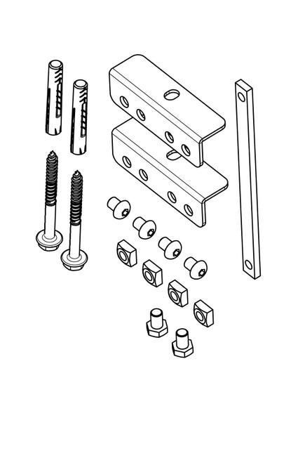 Vogels PFA9126 Bracket Kit For PFB34xx