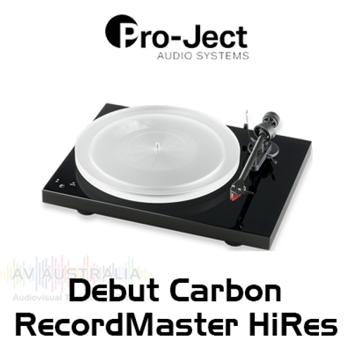 Pro-Ject Debut Carbon RecordMaster HiRes Turntable Inc. Ortofon 2M Red Cartridge