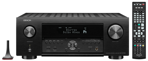 Denon X4700H 9.2-Ch 8K HDR IMAX Enhanced AV Receiver with Auro-3D Audio and HEOS Built-in