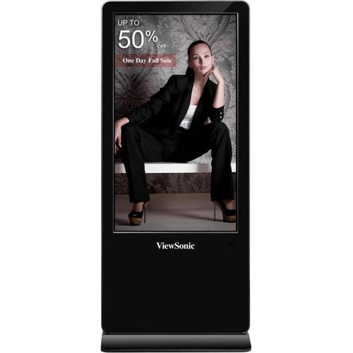 "ViewSonic EP5540T 55"" 4K UHD Multi-Touch Digital ePoster"