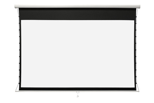"Elite Screens Manual Tab-Tension CineWhite UHD Pull Down Projection Screens (100""-138"")"